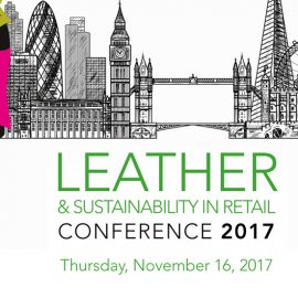 leather and sustainability in retail conference 2017