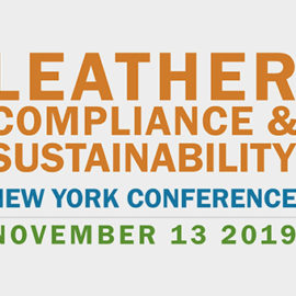 Leather, Compliance & Sustainability New York Conference 2019