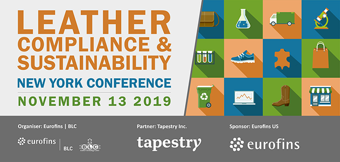 Leather, Compliance & Sustainability Conference New York 2019