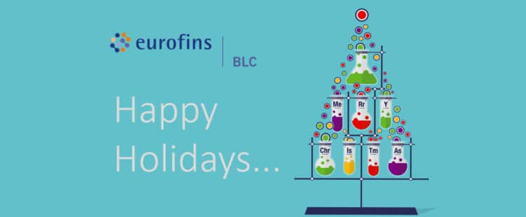 Happy Holidays, Opening Hours & Testing Lead Times